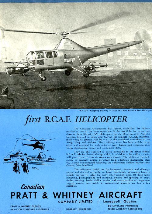 Is it an H-5? Is it a Dragonfly? No, it's an S-51, Part 1