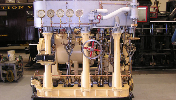 Canadian Vickers Ltd. Triple Expansion Steam Engine
