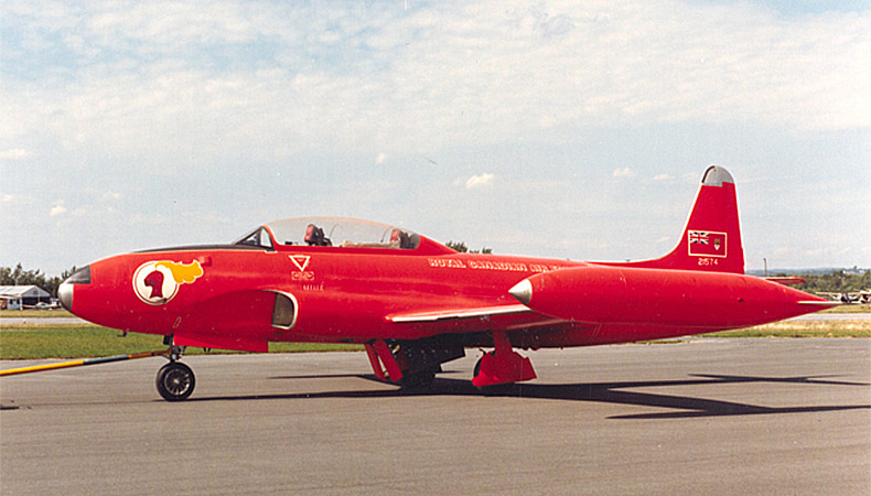 Avion T-33AN Silver Star 3 de Canadair