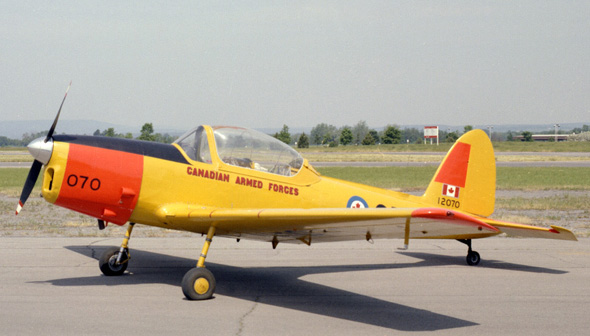 De Havilland Canada DHC-1B2 Chipmunk 2