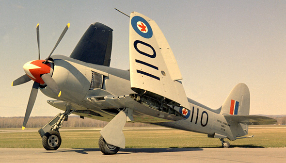 Avion Sea Fury FB.11 de Hawker