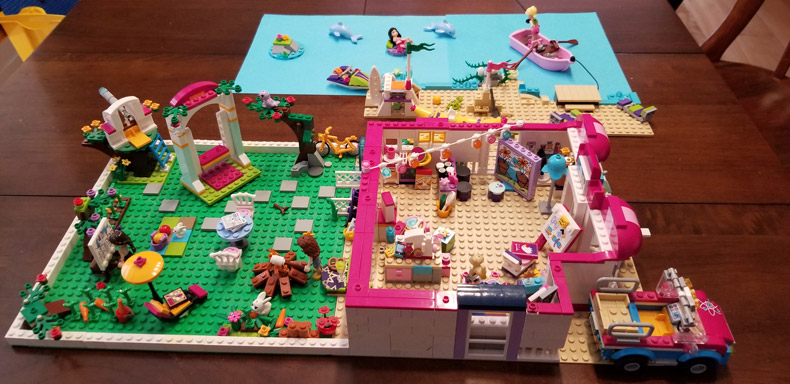 "Lego contest winner individual Age 12 - 16 ""The Ideal Home of a Future Artist"""