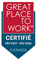 2017-2018 Certifié - Great place to work