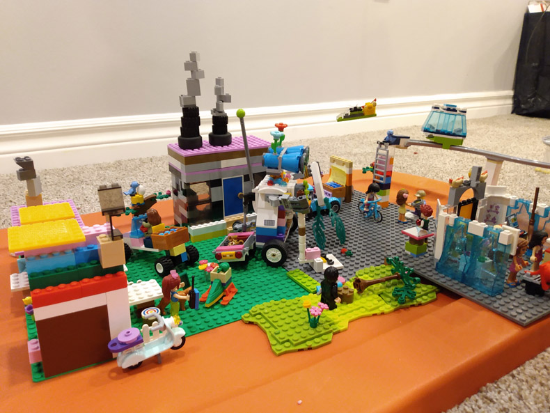 "Lego contest winner individual Age 9 - 11 ""A Whole New Ottawa"""