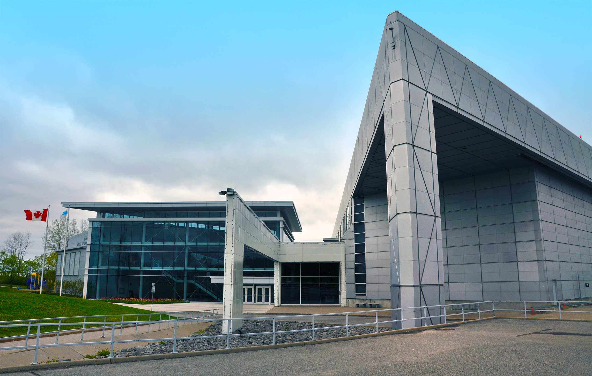 Canada Aviation and Space Museum building