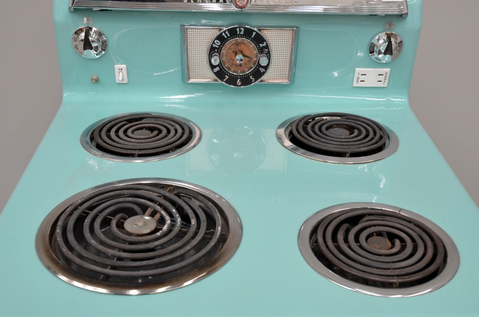 Hotpoint Calrod burners, 1960