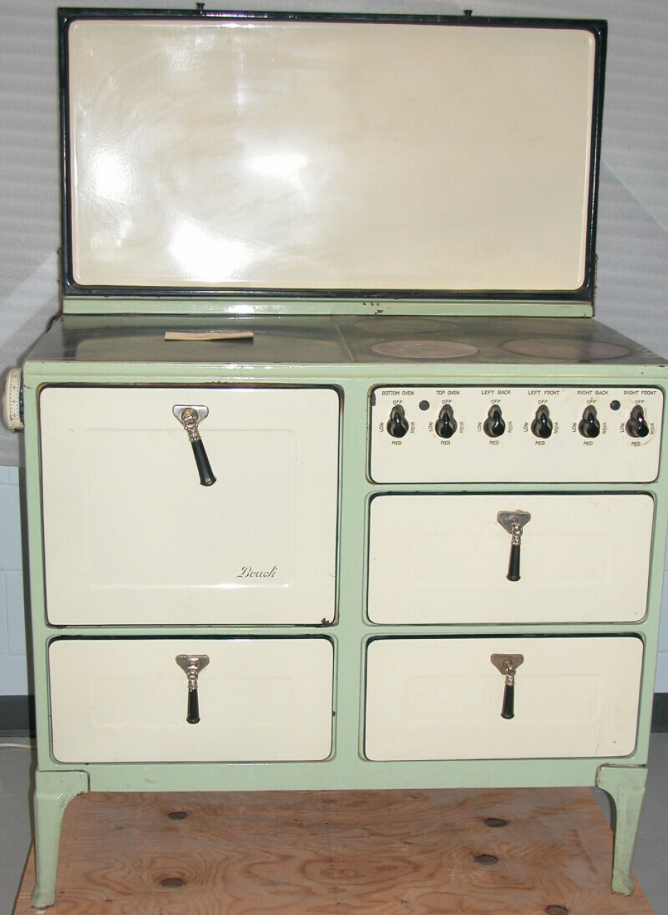 Electric buffet range, Beach Foundry Limited, circa 1937