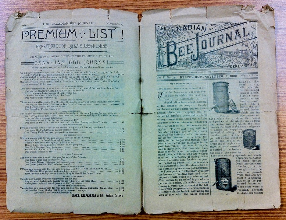The Canadian Bee Journal 11.34 (November 17, 1886),