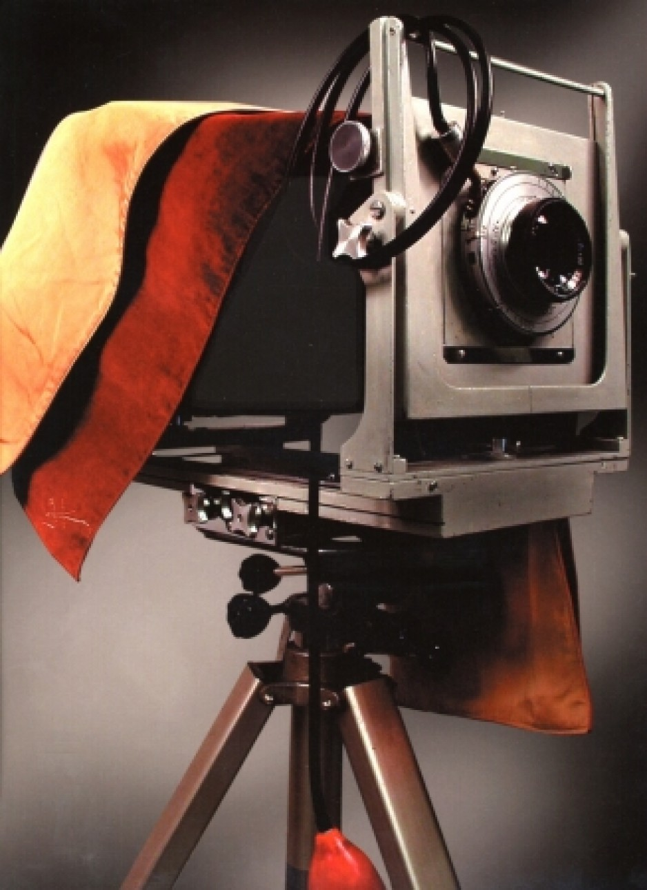 Main camera used by a prominent Canadian photographer Yousuf Karsh.