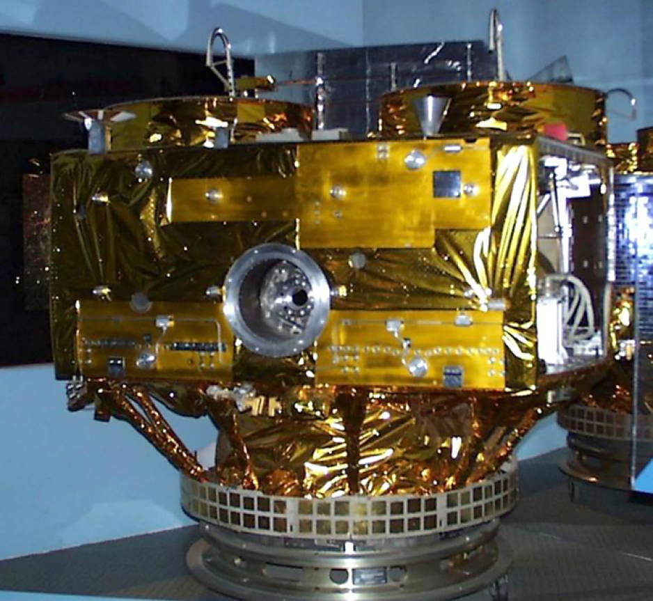 Hermes satellite model.