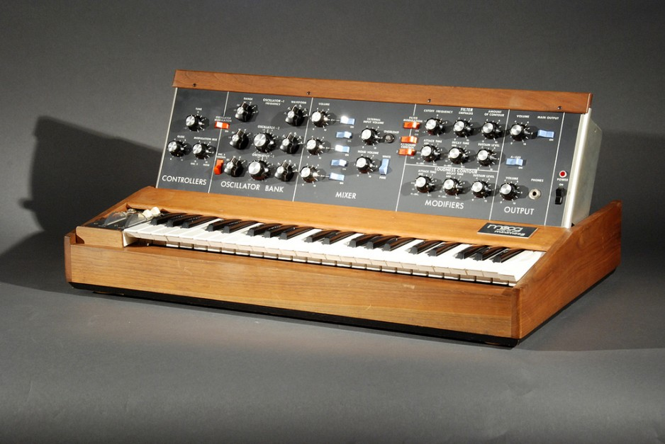 Minimoog used by rock star Paul Hoffert.