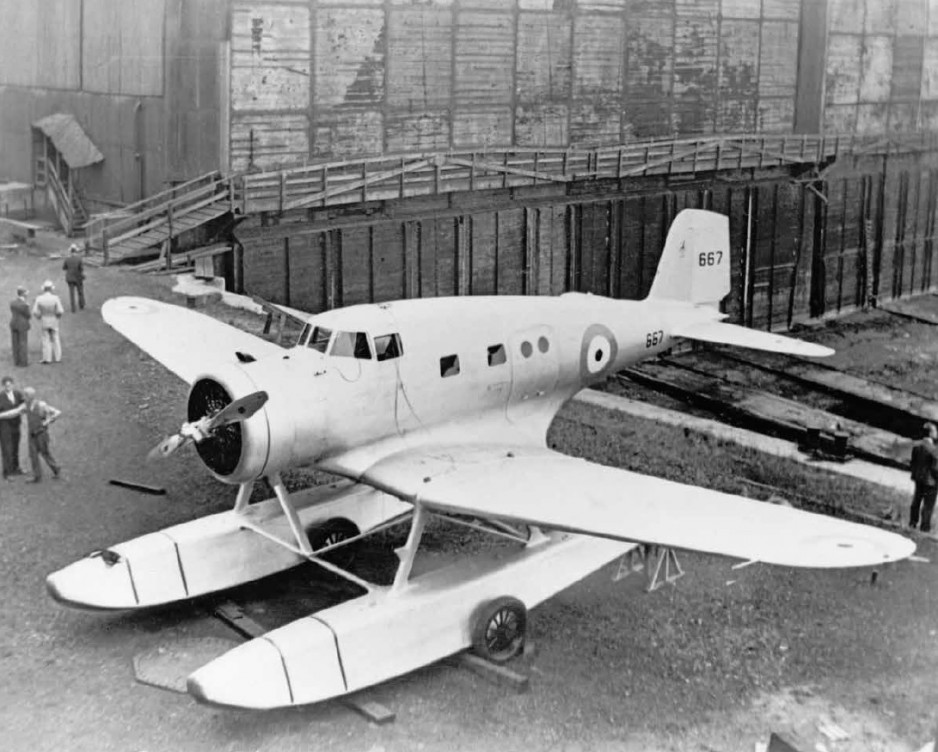 The first Northrop Delta delivered to the Royal Canadian Air Force, at the Canadian Vickers Limited factory, Montréal, Québec, 1936. CASM negative no 25482.
