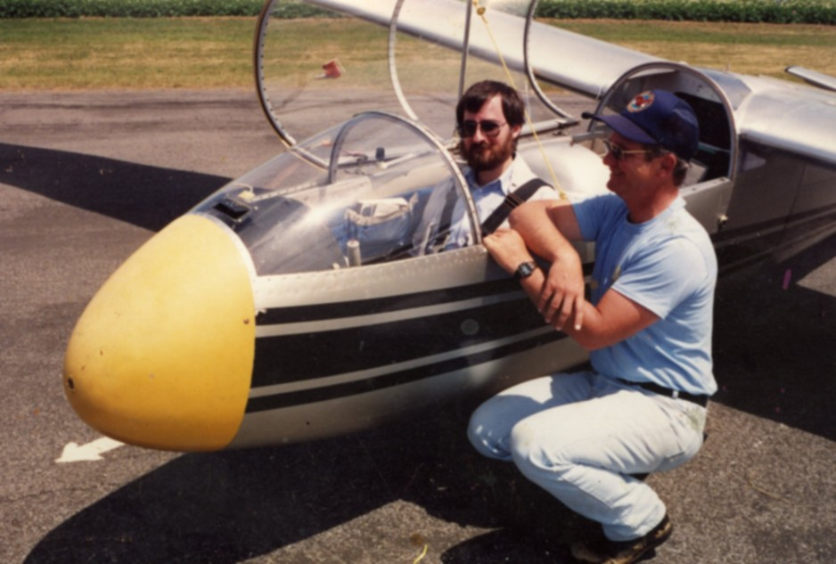 Yours truly aboard a Let L-13 Blaník of the Gatineau Gliding Club, Plantagenet, Ontario. This aircraft completed in 1973 and delivered to this club that very year still flew in 2019, it seemed.