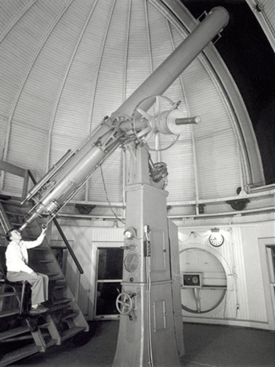 Warner & Swasey Co. Refracting Telescope