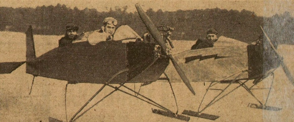 "Two American aerosleds on which I know nothing, zip, nada. Anon., ""Un nouveau modèle de traîneaux ultra-rapides."" Excelsior, 6 February 1930, 8."