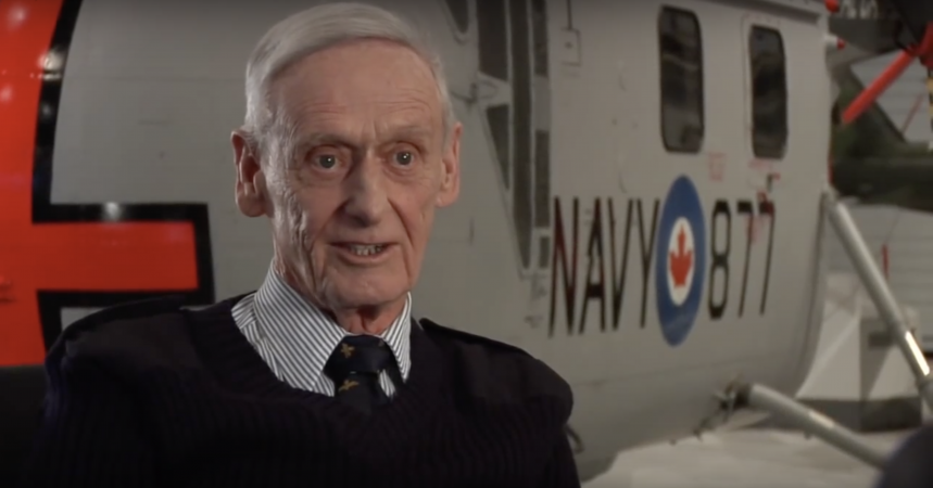 Aviateur de l'aéronavale canadienne - Bob Murray, Capitaine de corvette MRC (à la retraite)