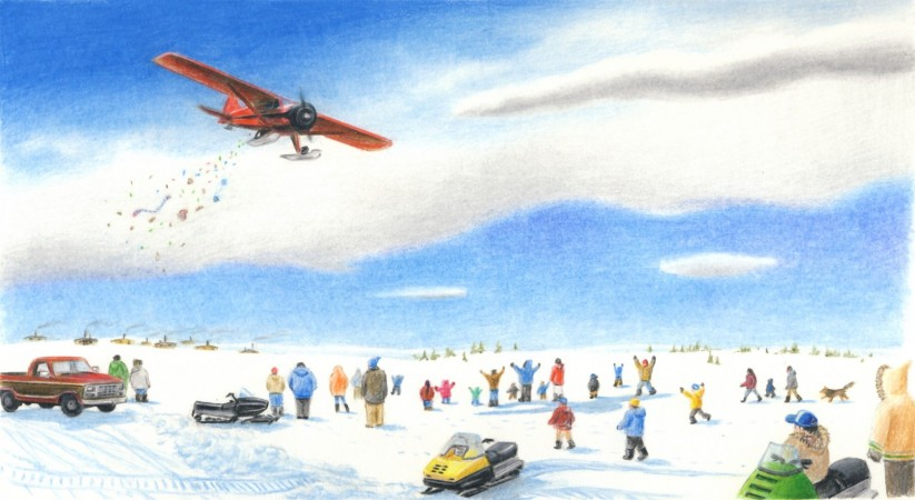 The Kuujjuaq Christmas Candy Drop