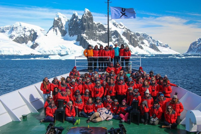Seventy-six women from around the world were participants on the inaugural Homeward Bound Women In Science Leadership Expedition to Antarctica.