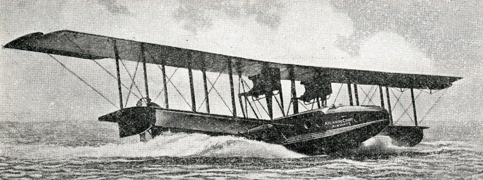 Un Felixstowe F-5L utilisé par Atlantic Coast Airways Corporation of Delaware. Anon., «Airport and Airway». Aero Digest, novembre 1929, p. 96.