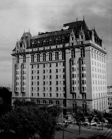 L'hôtel Fort Garry, Winnipeg, Manitoba