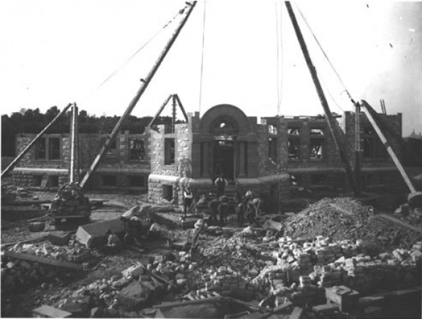 Construction of the Observatory