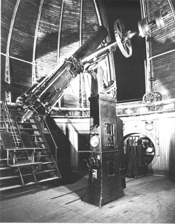 The 15-inch (38-cm) equatorial refractor.