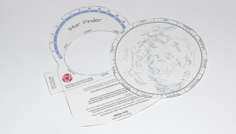 photo about Planisphere Printable known as Take a look at the Famous people Ingenium