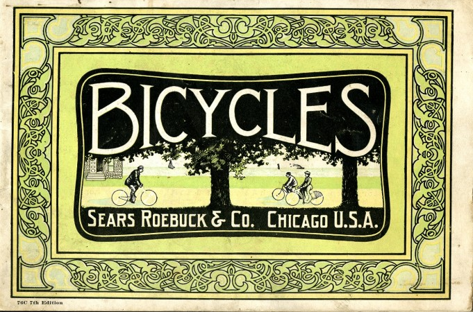 Bicyles, Sears Roebuck & Co. Trade Literature example