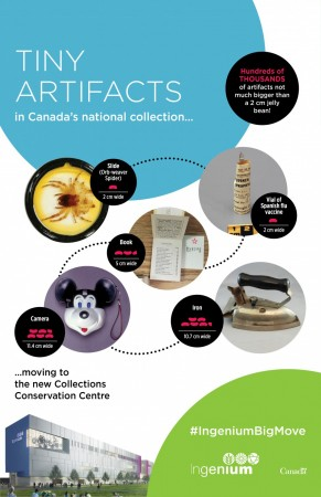 Tiny artifacts infographic