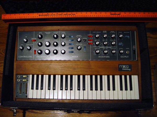 "Top of the ""Minimoog"" Synthesizer"