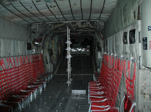 Passenger area of the Hercules