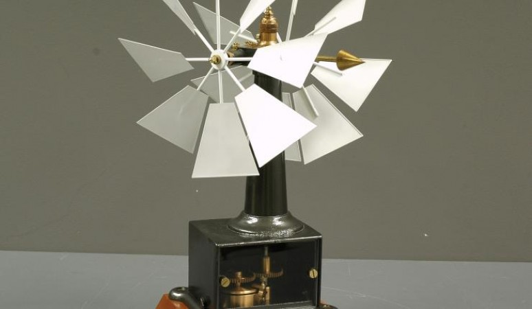 This anemometer was used at the Toronto Magnetic and Meteorological Observatory