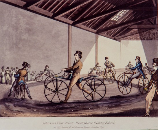 Riding in Johnson's Academy