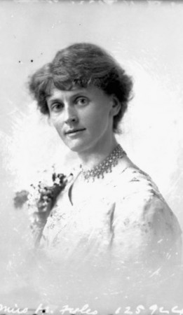 Faith Fyles (c.1913) Topley Studio, Library and Archives Canada, PA-204727