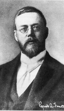 Reginald Fessenden not only invented a way to transmit the human voice, but made the very first radio broadcast.