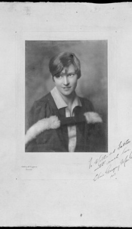 Elsie Gregory MacGill, 1927. Source: Library and Archives Canada/a200745