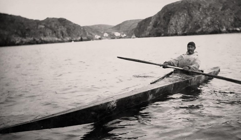 Kayak - Photo courtesy of Library and Archives Canada