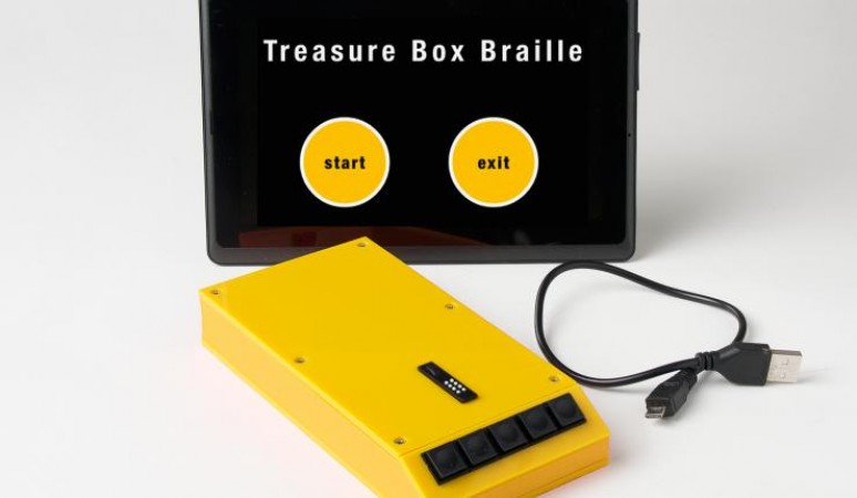 Treasure Box Braille Learning System