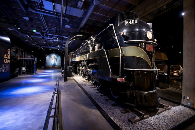 Photo of a locomotive from Steam: A World in Motion
