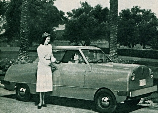 "One of the very few Airways Airway microcars made, San Diego, California. Anon., ""Voiture légère."" Photo-Journal, 29 December 1949, 48."