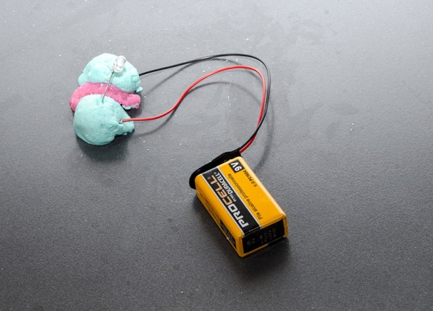 The squishy circuit testing part 2