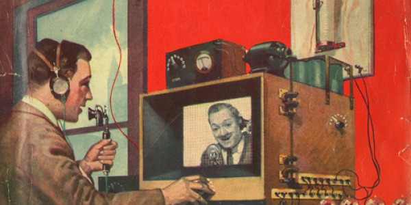 Advertisement for TV equipment