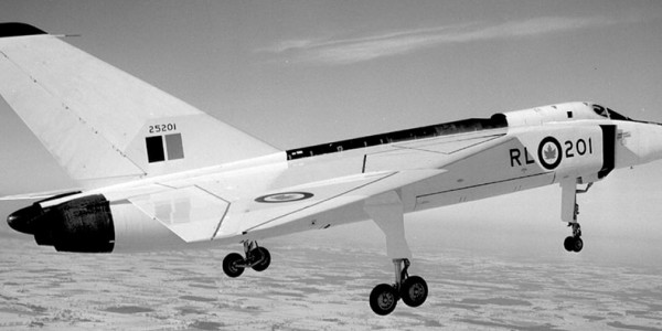 Historical image of the Avro Arrow