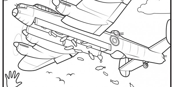 Operation Manna coloring page number 1
