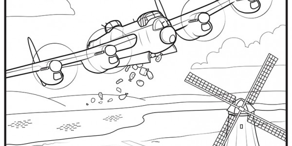 Operation Manna coloring page number 3
