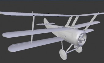 Aircraft: A 3D exploration of the design and colouration of First World War airplanes