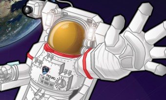 Illustration of an astronaut