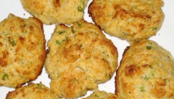 Goat Cheese and Herbs Biscuits