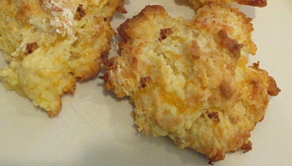 Bacon and Cheddar Cheese Biscuits