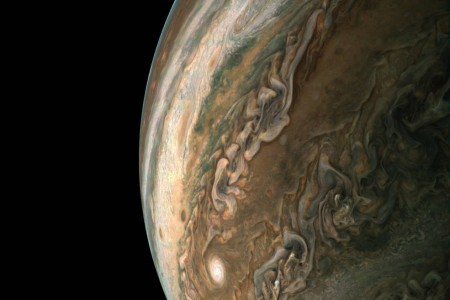 Jupiter as imaged by the Juno Spacecraft